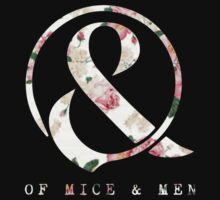 Of Mice & Men floral logo by katnissramsay
