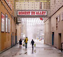 Honest Ed Alley by Valentino Visentini