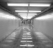 Toronto Subway Tunnel by Valentino Visentini