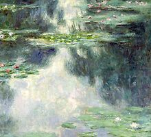 Pond with Water Lilies by Bridgeman Art Library