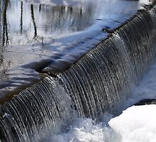 Sciota Old Mill Spillway  by clizzio