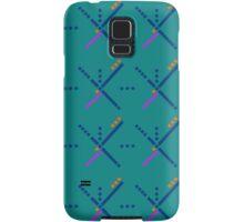 PDX Portland Airport Carpet Samsung Galaxy Case/Skin