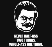 Ron Swanson Quote 3 by HarrisonSteele