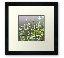 Explore Framed Print