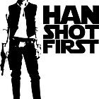 Star Wars - Han Shot First by wallyhawk