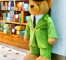 The Harrods Bear  by PictureNZ