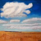 Big sky country with clouds by victorgroza