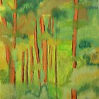 the woods around Sagatuck, MI by victorgroza