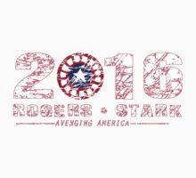 Rogers & Stark: 2016 by supernate77