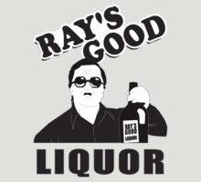 Rays Good Liquor - Grey by straightupdzign