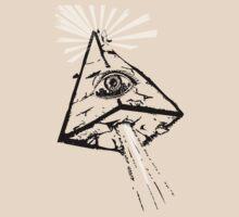 Illuminated Pyramid by mamisarah