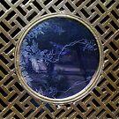 Blue Window by Christina Backus