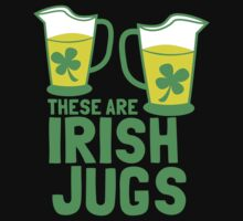 These are IRISH Jugs with green shamrcoks by jazzydevil