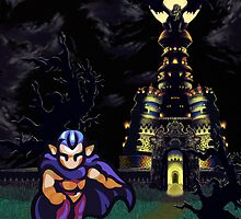 Magus Castle w/Magus by likelikes