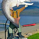 Anyone for a fishing photo?., Te Anau, South Island, New Zealand. by johnrf