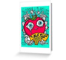 Save The Veggies - Tomato Greeting Card