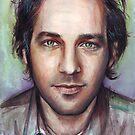 Paul Rudd Portrait by OlechkaDesign