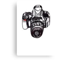 The Mighty Nikon Canvas Print