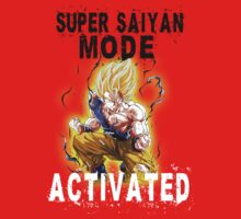 Super Saiyan Mode Goku Rage by BadrHoussni
