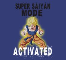 Super Saiyan Mode Goku Full Power by BadrHoussni