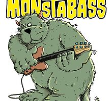 Monster with Bassguitar by chrisbears