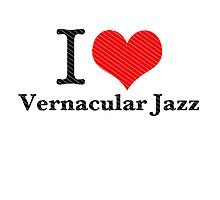 I heart Vernacular Jazz by loshous