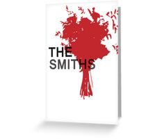 The Smiths Bouquet Greeting Card
