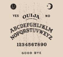 Ouija You (black) by TheGraphicGuru