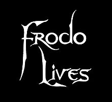 Frodo Lives - White by Earth-Gnome