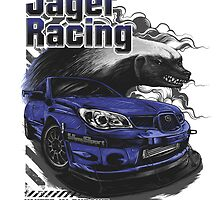 Jager Raging Fierce Badger by rjager