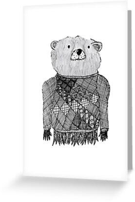 Bear Illustration  by goatlegg