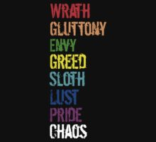 Seven Deadly Sins... and Chaos! by maryev