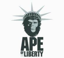 Ape Of Liberty by moseisly