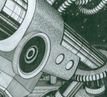 Microscope or Telescope Sticker