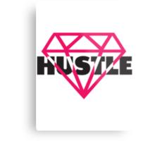 Hustle Diamond Metal Print