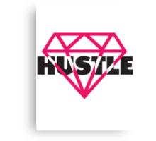 Hustle Diamond Canvas Print
