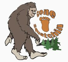 Gone Squatchin Bigfoot Kids Clothes