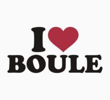 I love Boule Petanque Kids Clothes