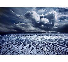 Storm seascape Photographic Print