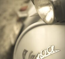 Dreamy Vintage Vespa by Juvani Photo | Digital Art