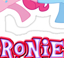Bronies Forever (No Heart) 2 Sticker
