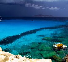 Stormy weather in Favignana by wichwetyl