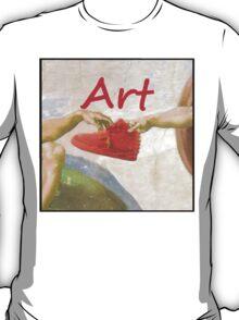 kanye west nike air yeezy 2 art T-Shirt