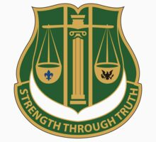 11th Military Police Battalion - Strength Through Truth by VeteranGraphics