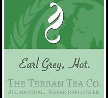 Fictional Brew - Earl Grey, Hot. by Amanda Mayer