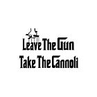 Leave The Gun Take The Cannoli Phone Case by Linda Allan