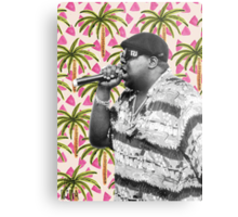 Biggie in Paradise Metal Print
