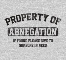 Property of Abnegation (Divergent) by vestigator