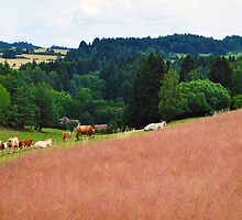Countryside Cattle Farm by dundeethecroc