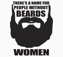 woman beard by spicydesign